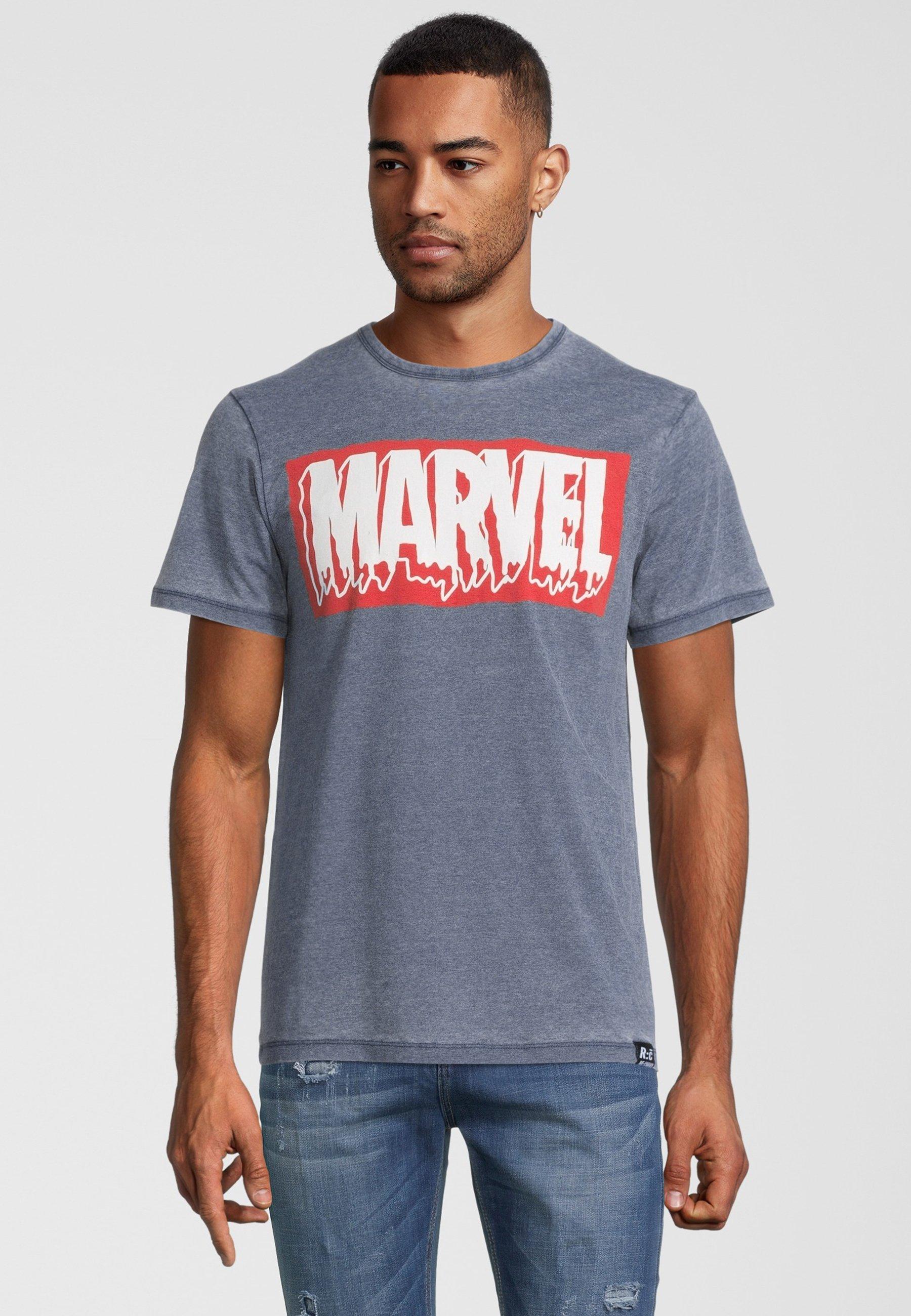 Herren MARVEL SLIME LOGO VINTAGE - T-Shirt print
