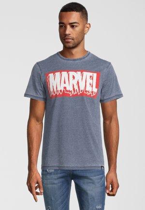MARVEL SLIME LOGO VINTAGE - T-shirt print - blau