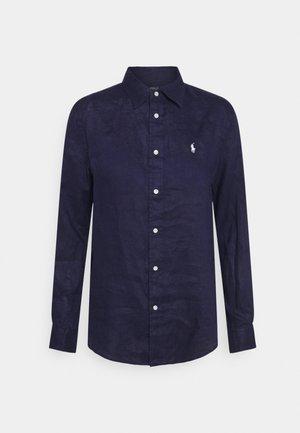 PIECE DYE - Button-down blouse - navy