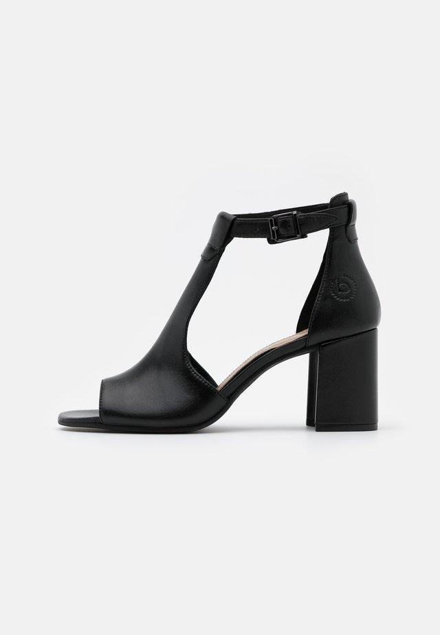 ROSELLA - High heeled sandals - schwarz