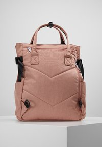 anello - 2 WAY BACKPACK UNISEX - Tagesrucksack - nude pink - 2