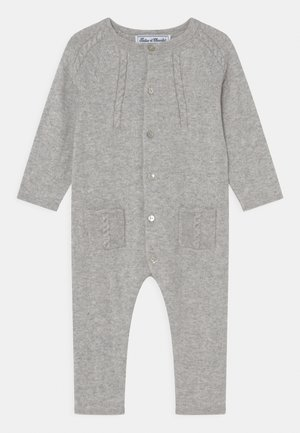 COMBILONGUE - Jumpsuit - gris clair