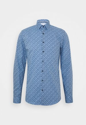 FLOWER PRINT - Formal shirt - blue