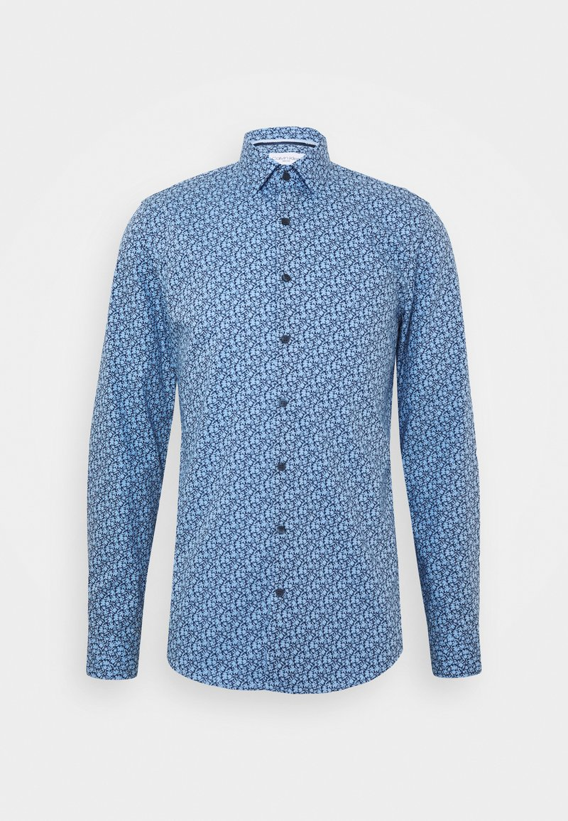 Calvin Klein Tailored - FLOWER PRINT - Formal shirt - blue
