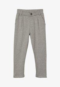 Name it - GEMUSTERTE - Pantaloni eleganti - grey melange - 0