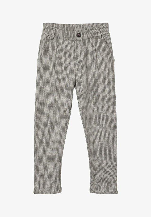 GEMUSTERTE - Pantalon - grey melange