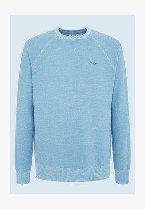 Pullover - bright blue