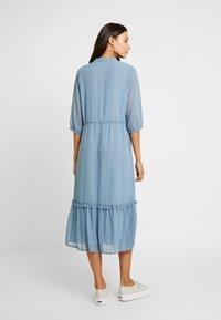 Moss Copenhagen - EVALINE 3/4 DRESS - Day dress - blue - 2