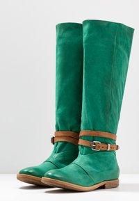 A.S.98 - Laarzen - emerald/natur - 4