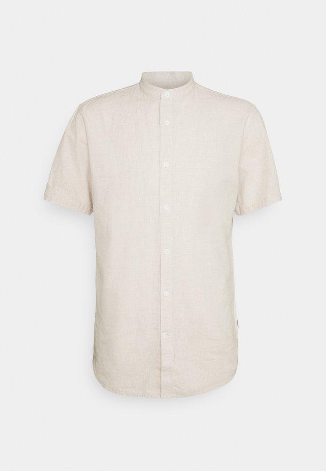 BLEND MANDARIN SHIRT - Camicia - sand