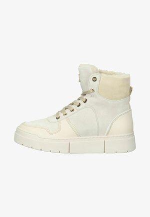 Sneakers hoog - ecru/light beige