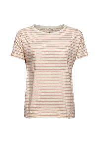 Esprit - Print T-shirt - orange red - 8