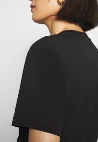 ARKET - T-shirt - bas - black dark - 6