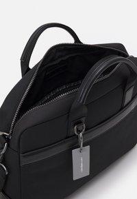 Calvin Klein - LAPTOP BAG UNISEX - Briefcase - black - 2