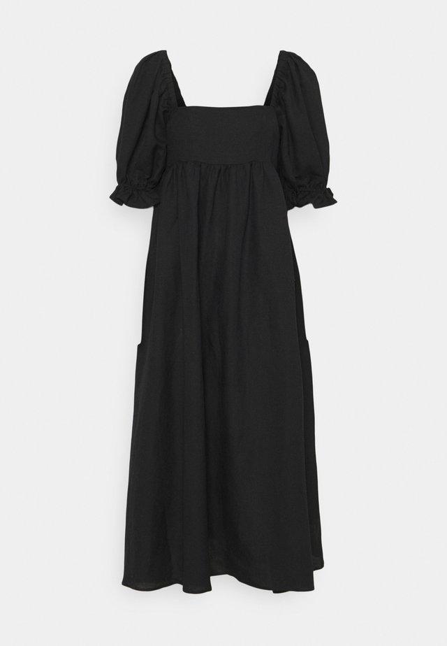 PATRICIA DRESS - Maxi dress - schwarz