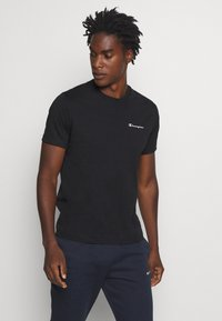 Champion - LEGACY CREWNECK - T-shirt - bas - black - 0