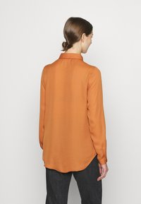 Vila - VILUCY BUTTON - Button-down blouse - adobe - 2