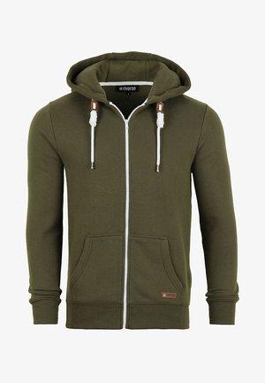 RIVTHILO - Zip-up sweatshirt - ivy green