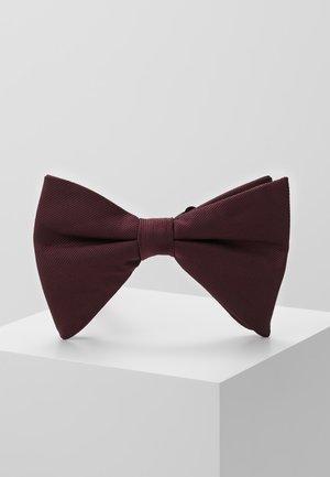 DROOPY BOW - Motýlek - burgundy