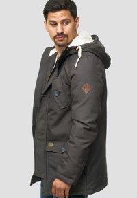 INDICODE JEANS - Winter coat - gray - 3