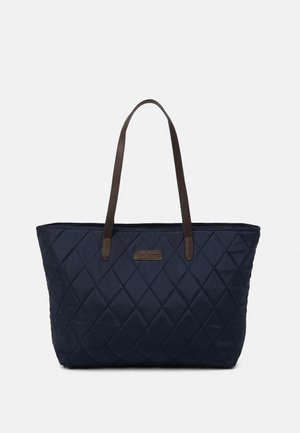 WITFORD QUILTED TOTE SET - Tote bag - navy