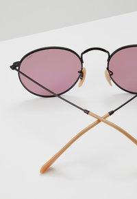 Ray-Ban - ROUND METAL - Okulary przeciwsłoneczne - black - 2