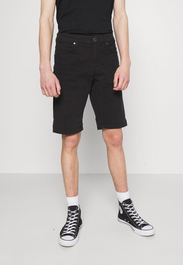 LUCKY FIVE POCKET - Jeansshort - black