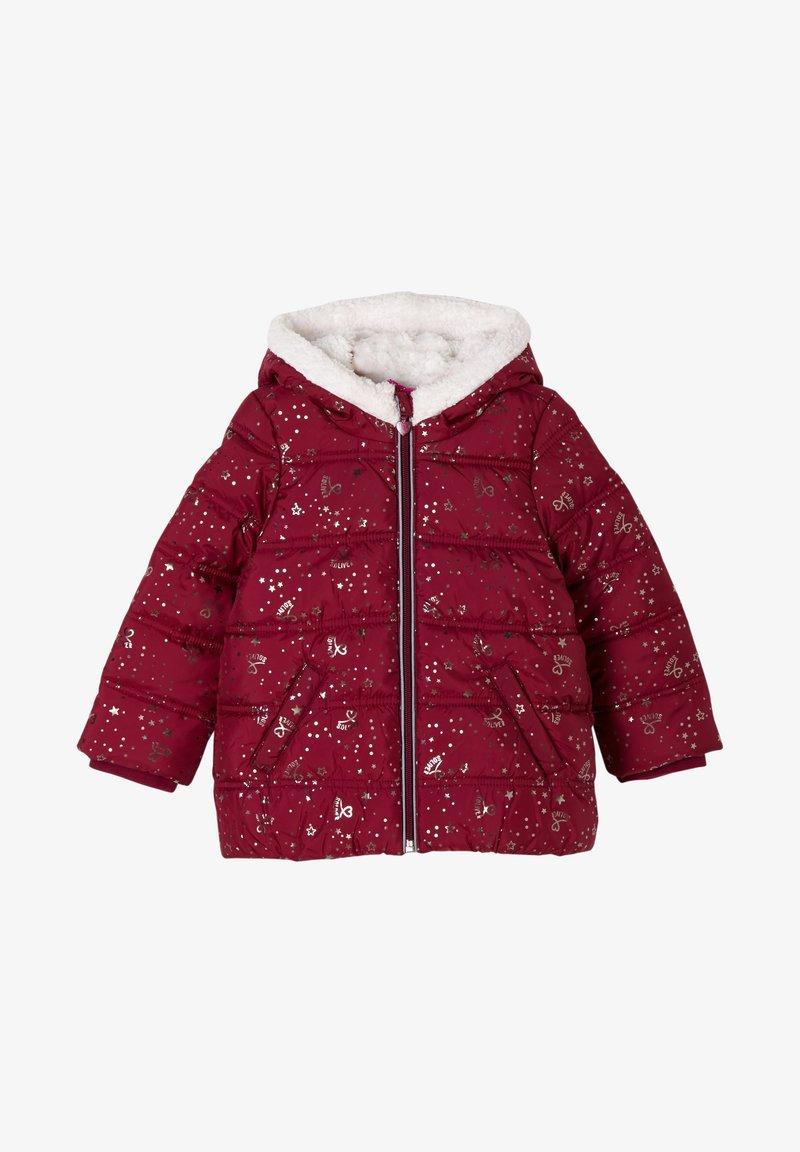 s.Oliver - Winter jacket - dark pink aop