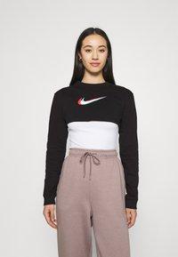 Nike Sportswear - CROP - Sudadera - black - 0