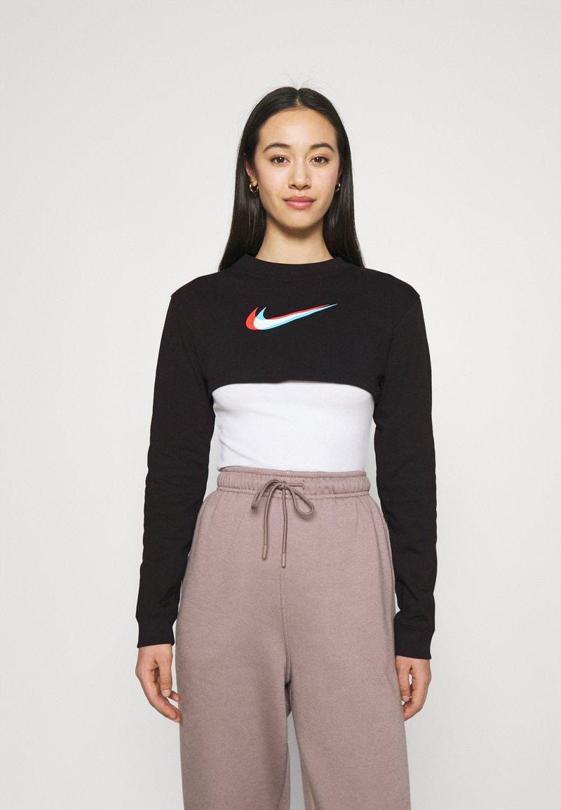 Nike Sportswear - CROP - Sudadera - black