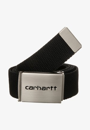CLIP BELT CHROME UNISEX - Cinturón - black
