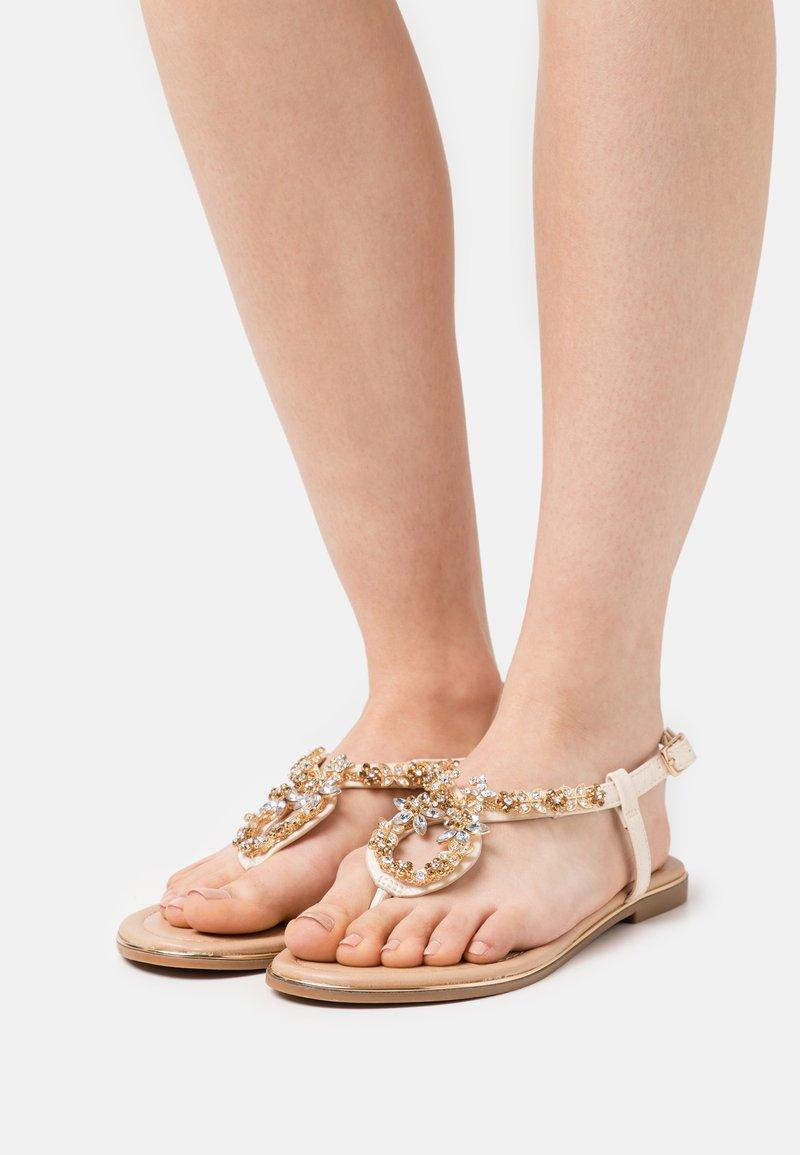 Anna Field - T-bar sandals - offwhite