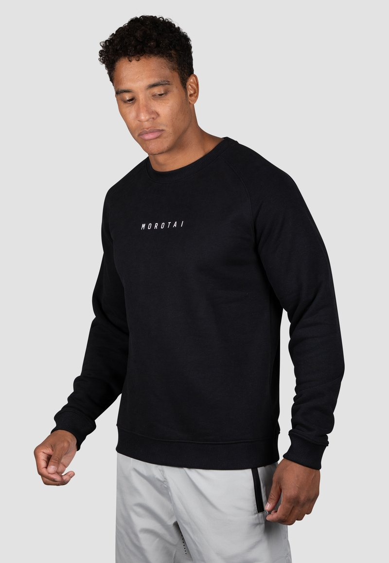 MOROTAI - Sweatshirt - schwarz