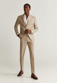 Mango - FLORIDA - Veste de costume - beige - 1