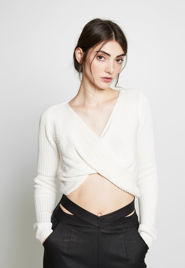MAEVE JUMPER - Jumper - cream