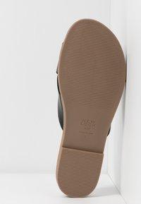 New Look Wide Fit - WIDE FIT HOLLIE COMFY FOOTBED MULE - Pantofle - black - 6
