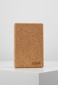 Casall - YOGA BLOCK  - Fitness/yoga - natural cork - 0