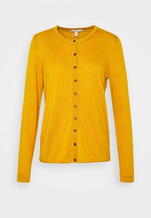 BASIC - Chaqueta de punto - brass yellow