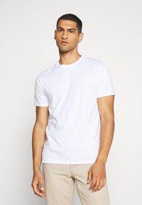 Topman - 7 PACK - Basic T-shirt - pink/white/grey/nature/stone - 5