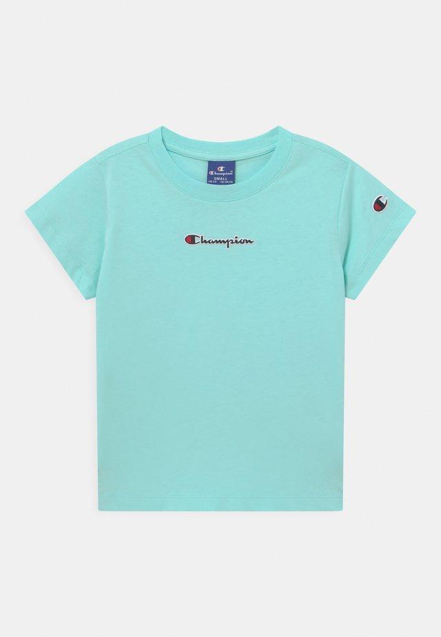 STREET CULTURE CREWNECK UNISEX - T-shirt imprimé - light blue