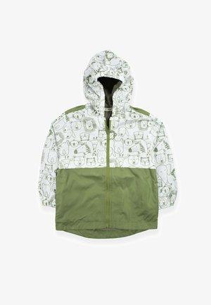 Jas - green, white