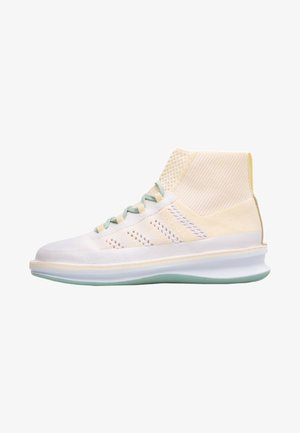 ROLLING - High-top trainers - white / cream