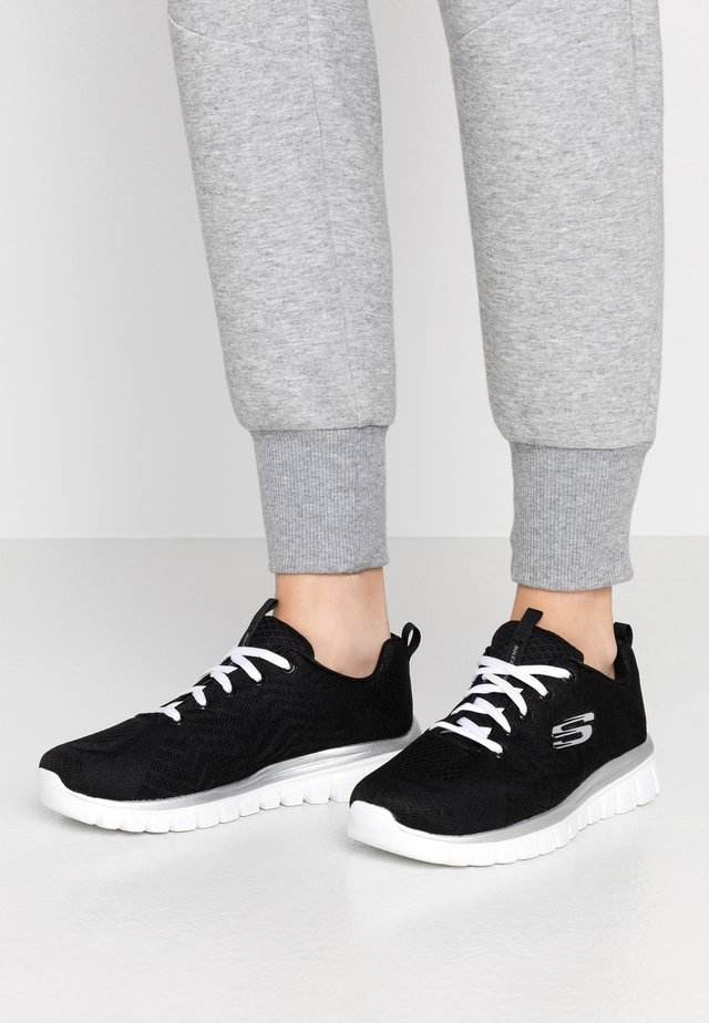 GRACEFUL WIDE FIT - Joggesko - black/white