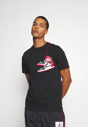SHOE CREW - T-shirt con stampa - black