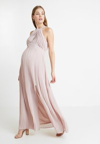TFNC Maternity - EXCLUSIVE PRAGUE DRESS - Occasion wear - new mink - 1