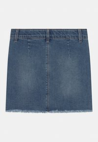 Name it - NKFSALLI  - Mini skirt - medium blue denim - 1