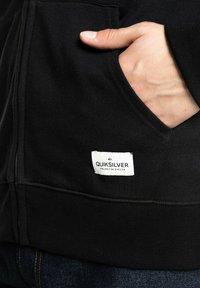 Quiksilver - MIT REISSVERSCHLUSS FÜR MÄN - Zip-up sweatshirt - black - 2