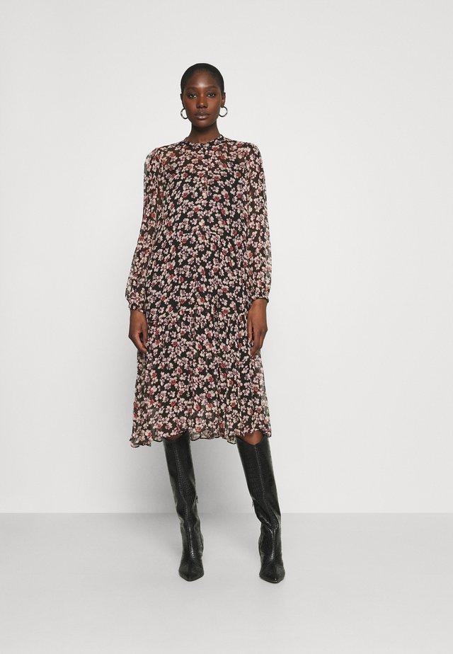 FLEURIR DRESS - Sukienka letnia - black