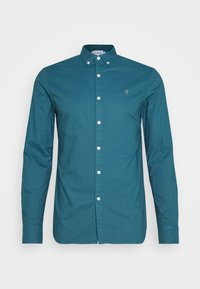 Farah - BREWER - Shirt - blue - 3