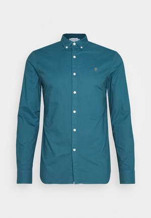 BREWER - Shirt - blue